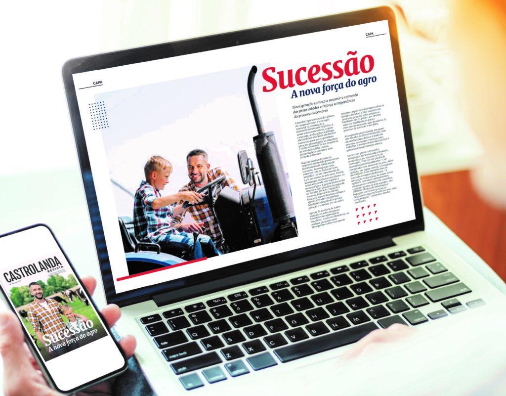Castrolanda Revista Sucessão: A Nova Força do Agro