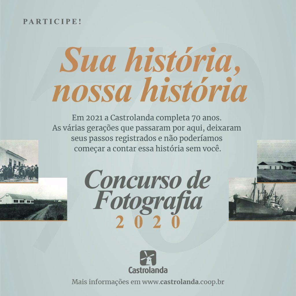 Castrolanda realiza concurso de fotografia para cooperados