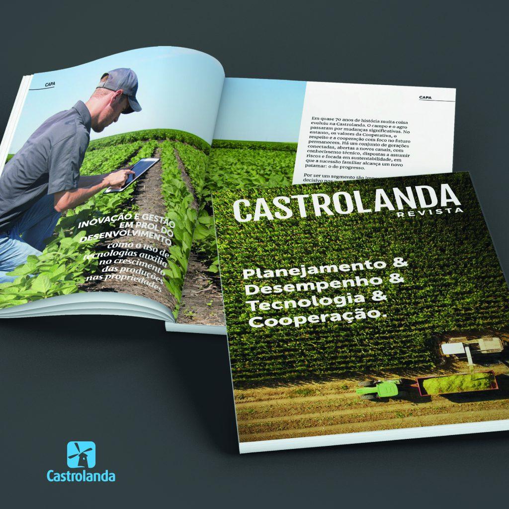 Castrolanda Revista aborda modelos de gestão e atuação integrada com associados