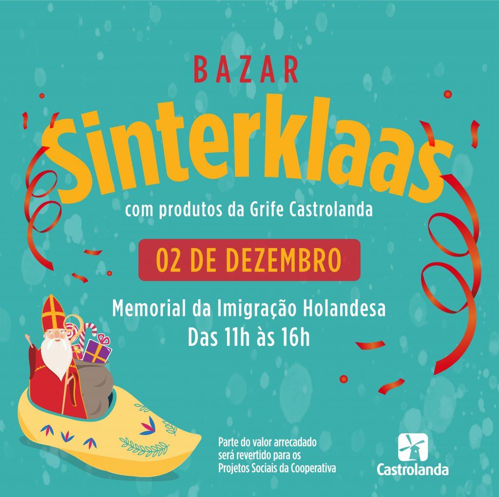 Grife Castrolanda realiza bazar beneficente no próximo dia 02/12