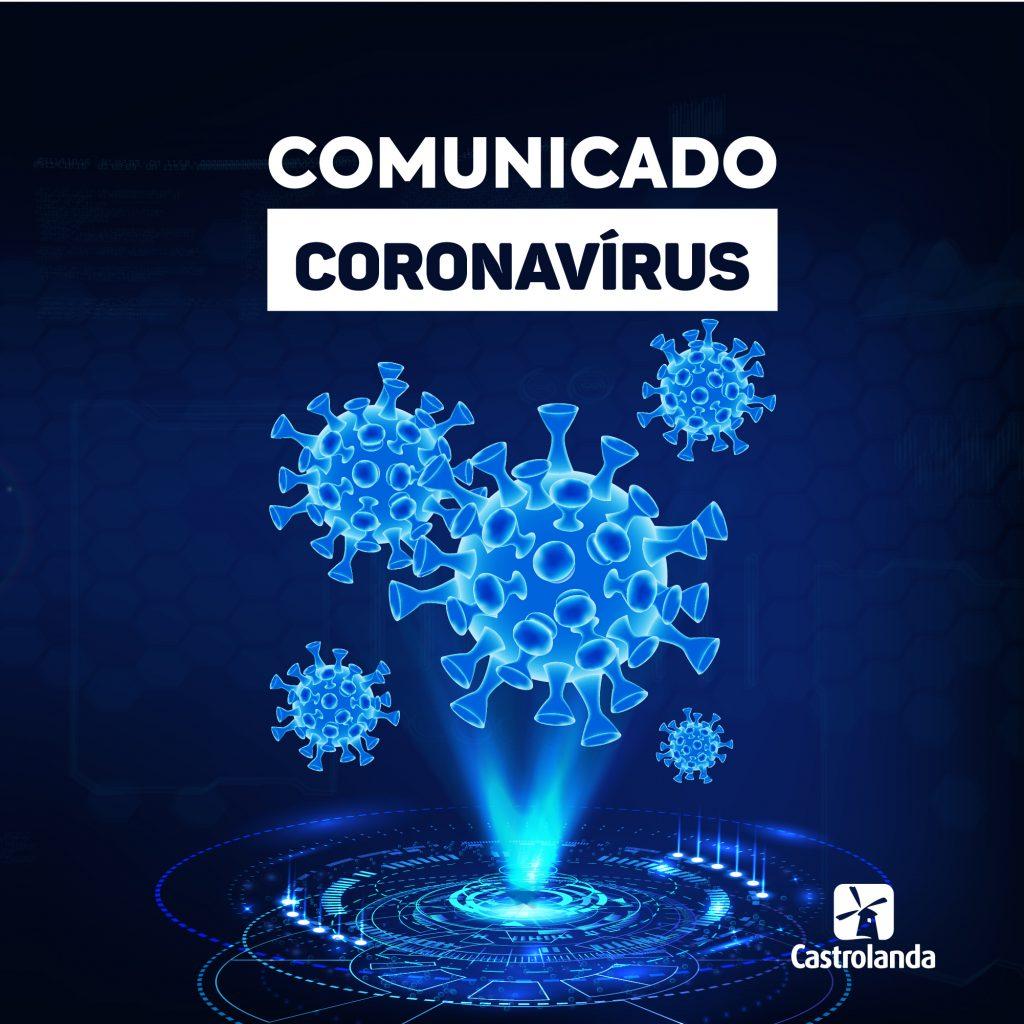 Comunicado – Coronavírus (Covid-19)