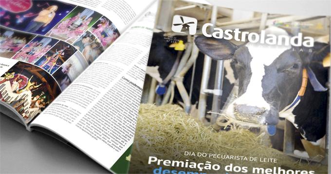 Castrolanda Notícias destaca melhores desempenhos do setor leiteiro