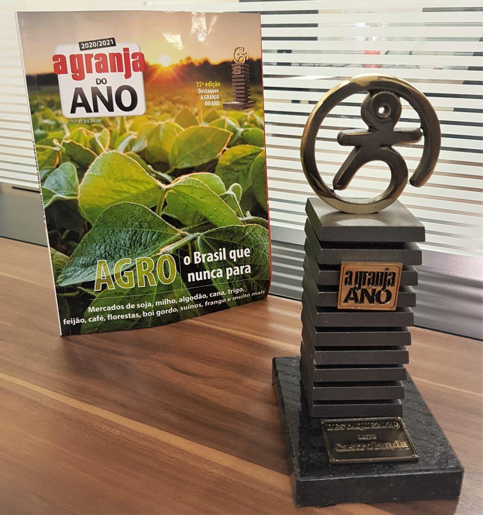 Troféu A Granja do Ano premia Castrolanda como destaque na pecuária leiteira