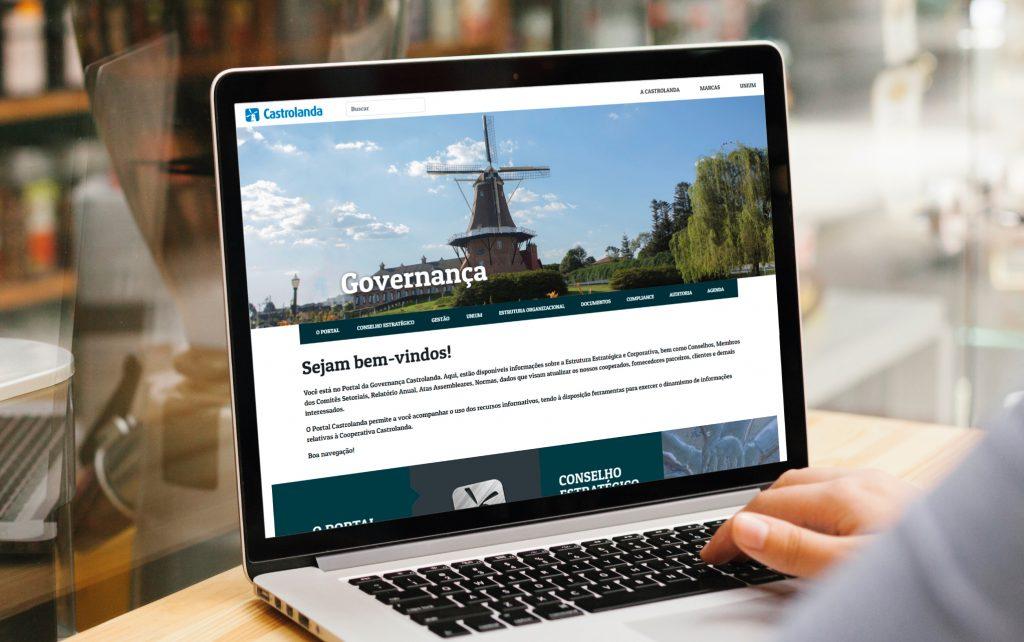 Castrolanda lança portal da Governança Corporativa