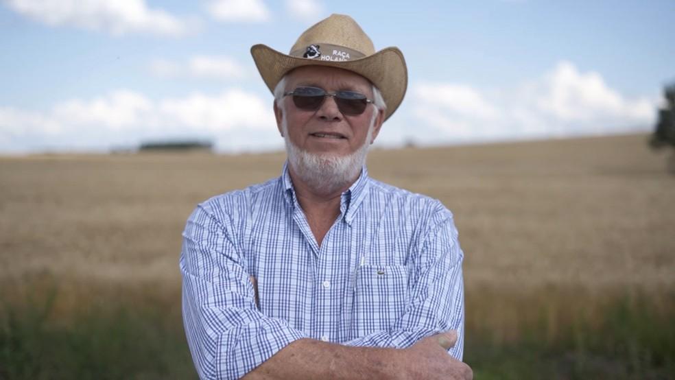 Hans Jan Groenwold: o imigrante holandês é uma das maiores referências em pecuária leiteira no Brasil