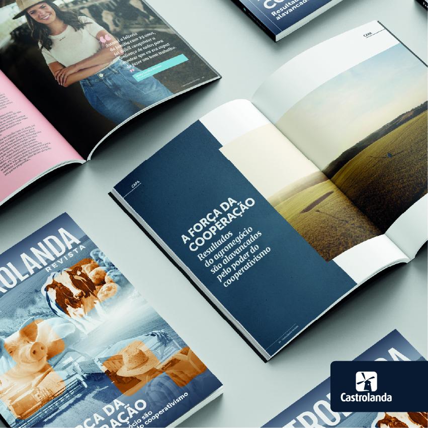 Castrolanda Revista destaca força do cooperativismo e os resultados alcançados pelo agronegócio