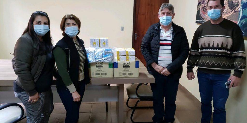 Castrolanda doa mil máscaras e 50 caixas de luvas para a saúde de Ventania