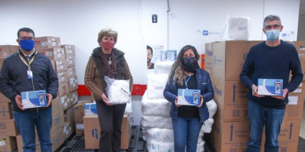 HU-UEPG recebe doações da Cooperativa Castrolanda