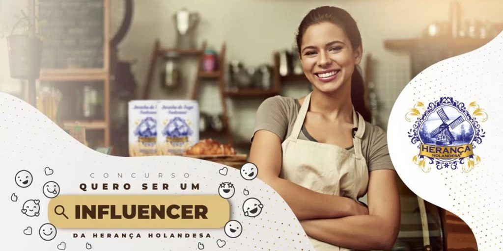 Herança Holandesa divulga influencers de gastronomia vencedores