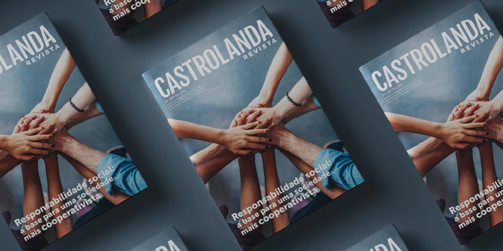 Castrolanda Revista aborda a responsabilidade social e educacional e os projetos da Cooperativa